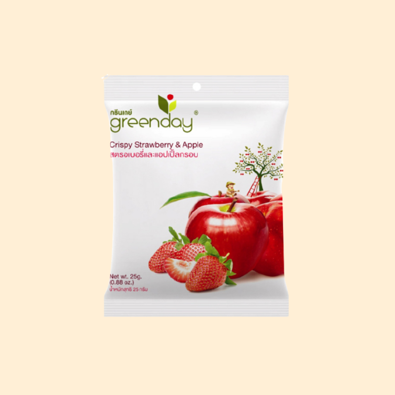Greenday Crispy Apple & Strawberry St