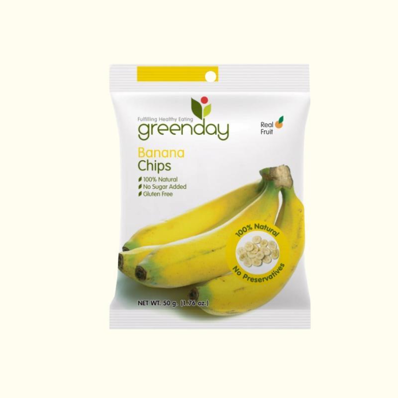 Greenday กล้วยกรอบ 50 กรัม