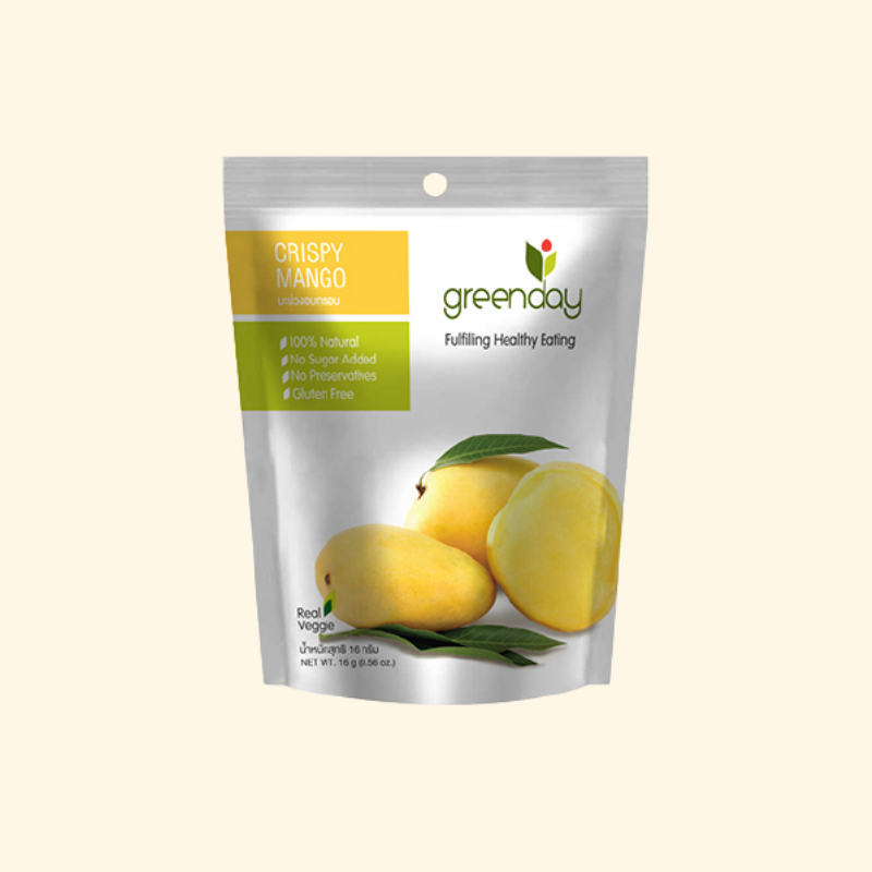 Greenday Crispy Mango 16 g.