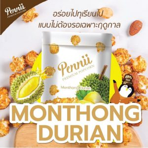 Pennii Premium Popcorn Monthong Durian (110 g)