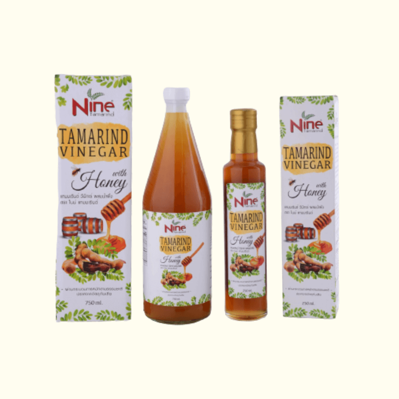 Tamarind Vinegar with Honey Vinegar (Nine Tamarind Brand)